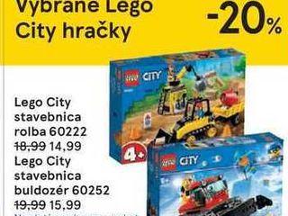 Lego City stavebnica buldozér 60252