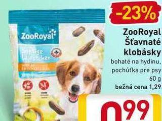 ZooRoyal šťavnaté klobásky 60 g