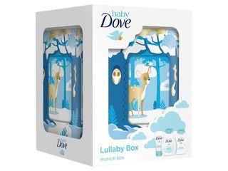 Dove Baby Lullaby Box s hracou skrinkou + gél 200 ml + tel.mlieko 200ml + krém 45 g