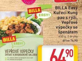 obrázek BILLA Easy Kuřecí Kung pao s rýží 450g