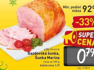 Gazdovská šunka 100 g
