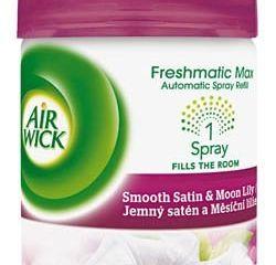 Obrázok Air wick Freshmatic Max Satén/ľalia náhradná náplň do osviežovača 1x250ml