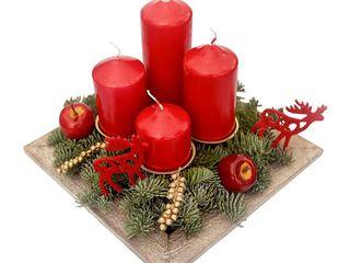 obrázek Adventní svícen Modern 4 svíčky