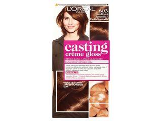L'Oréal Casting Creme Gloss farba na vlasy 603 chocolate macaroon 1x1 ks