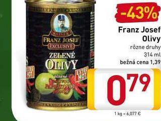 Obrázok  Franz Josef  olivy 314 ml