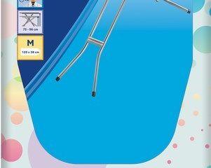 Obrázok Žehliaca doska Star plus 120x38cm modrá Vileda 1ks