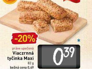 Viaczrnná tyčinka Maxi 82 g