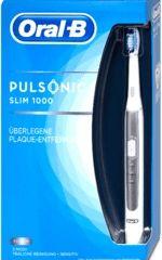 Sonická zubná kefka Pulsonic Slim 1000, strieborná