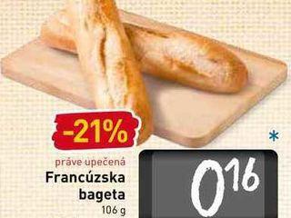 Obrázok Francúzska bageta 106 g