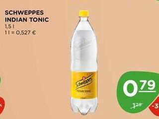 SCHWEPPES INDIAN TONIC 1,5 l