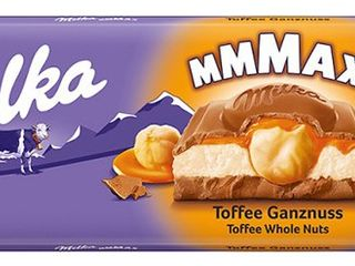Čokoláda Milka Toffee Whole Nuts,...