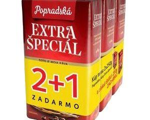 Obrázok Káva Extra špeciál, 250 g, 2+1