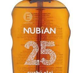 Nubian Olej na opaľovanie v spreji OF25 1x200 ml