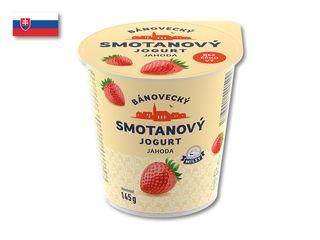 Bánovecký smotanový jogurt