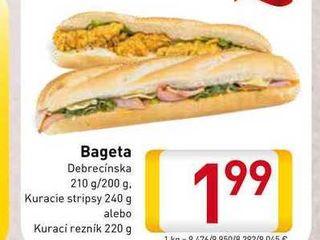 Obrázok Bageta Debrecínska 200-240 g