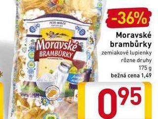 Obrázok  Moravské brambůrky 175 g
