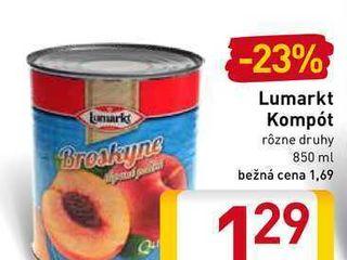 Lumarkt kompót 850 ml