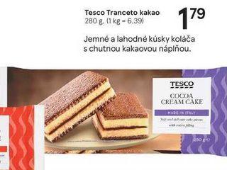 Tesco Tranceto kakao, 280 g