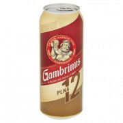 PIVO GAMBRINUS 12% 0,5l PLECH