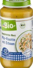 Obrázok Zeleninový príkrm hubové rizoto s hráškom, 250 g