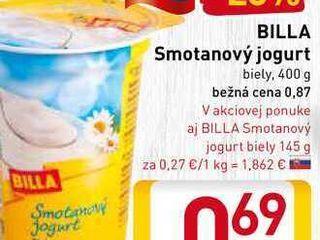 Obrázok BILLA Smotanový jogurt  400 g