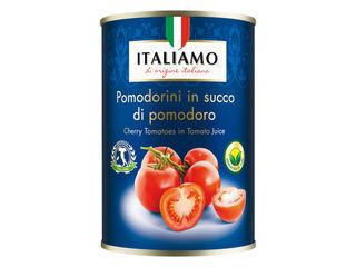 Obrázok Cherry paradajky v paradajkovej šťave
