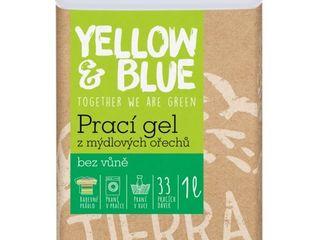 Tierra Verde prací gél z mydlových orechov bez vône 1x1 l