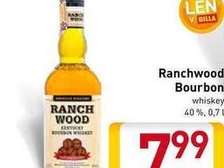Obrázok  Ranchwood Bourbon  0,7 l