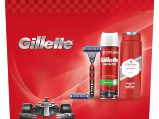 Gillette Mach3 Turbo Red hol.strojček + hlavica + pena na holenie + sprchový gél