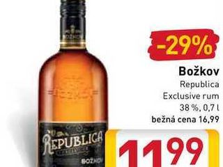 Božkov Republica  0,7 l