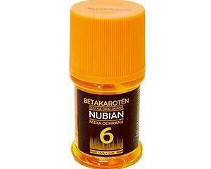 Nubian opaľovací olej číry of6 1x60 ml