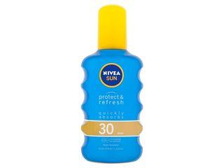 Nivea Sun Protect&refresh Sprej na opaľovanie neviditeľný OF30 1x200 ml