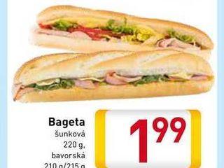 Obrázok  Bageta 210 - 220 g g
