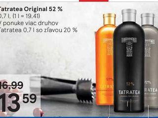 Tatratea Original 52 %, 0,7 l