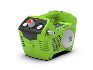 Obrázok Aku vzduchový kompresor Greenworks G24AC 24V