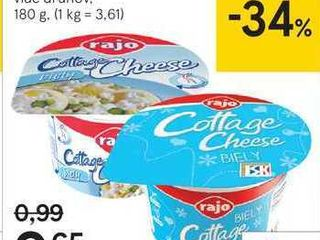 Cottage cheese ochutený, 180 g