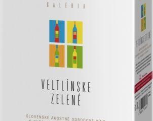 Obrázok Vitis Galéria Veltlínske Zelené Bag in Box 11,5% 3,00 L