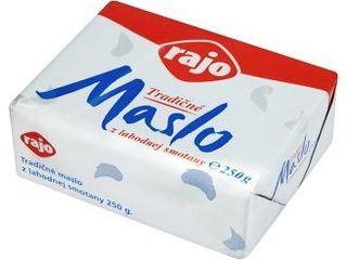 Rajo Tradičné maslo 250 g