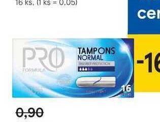 Pro Formula dámske tampóny, 16 ks