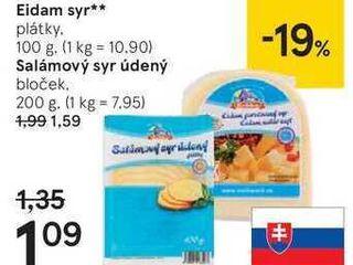 Eidam syr, 100 g
