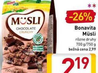 Obrázok Bonavita Müsli 700-750 g