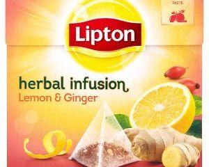 Obrázok Lipton ovocný čaj pyramídový 20 ks