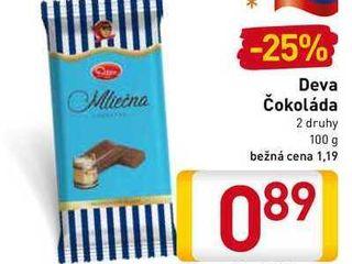 Deva čokoláda 100 g