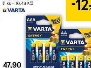 Varta Energy Baterie, 4 ks
