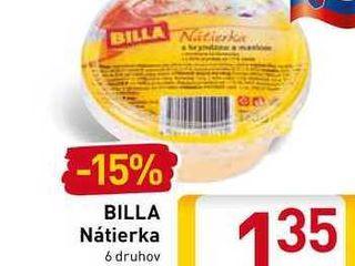 Obrázok  BILLA Nátierka 140 g