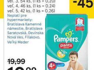 Pampers Active baby pants maxi pack