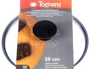 Pokrievka sklenená 20cm nero Tognana 1ks