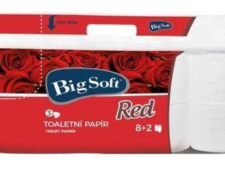 TP Big Soft Red 3-vrstvový