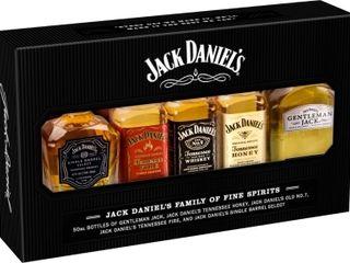 Obrázok Jack Daniel's Family mini set 39% 5x 0,05 L