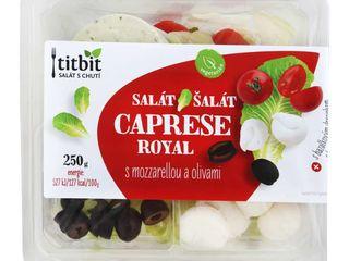 Šalát Caprese s mozzarellou